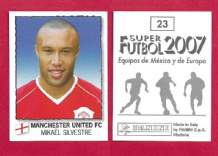 Manchester United Mikail Silvestre France 23